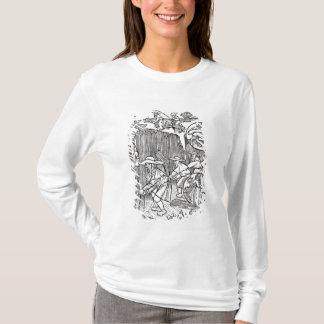 T-shirt Août, du calendrier d'un berger