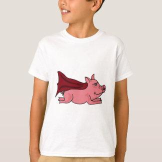 T-shirt AP piloter la bande dessinée superbe de porc