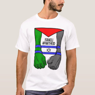 T-shirt Apartheid d'Israélien de Carlos Latuff-