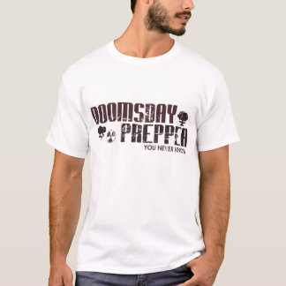 T-shirt Apocalypse de zombi de Survivalist de Prepper de