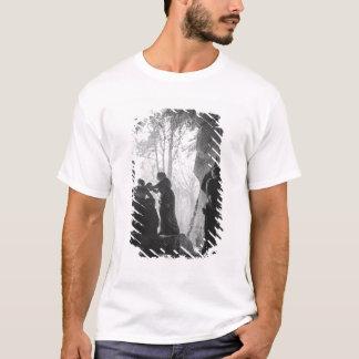 T-shirt Apollo a tendu par des nymphes dans le bosquet des
