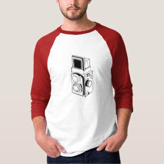 T-shirt appareil-photo vintage