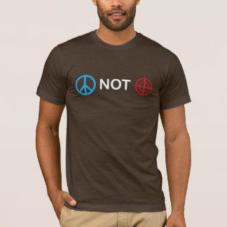 T-shirt Appareils de pointage de paix pas