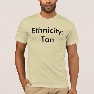 T-shirt Appartenance ethnique : Tan