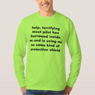 T-shirt appel à l'aide