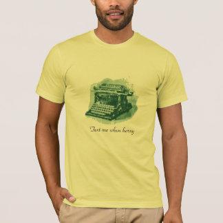 T-shirt Appel moderne de butin
