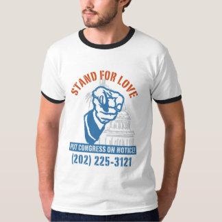 T-shirt Appel pour l'amour