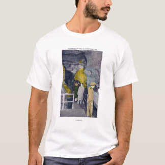 T-shirt Appel téléphonique à la tête du lac souterrain