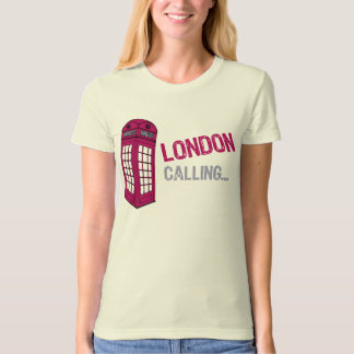T-shirt Appeler de Londres (rose)