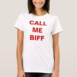T-shirt APPELEZ-MOI COUP DE POING, chemise de poupée de