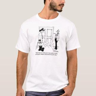 T-shirt Appelez un serrurier avant d'utiliser un chalumeau
