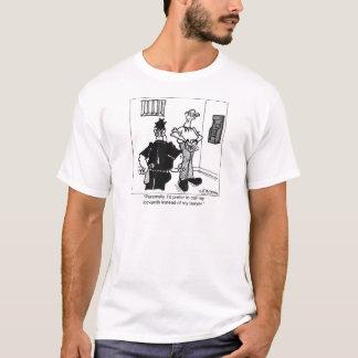 T-shirt Appelez un serrurier, pas un avocat