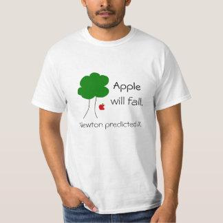 T-shirt Apple will fall...