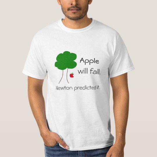 T-shirt Apple will fall...