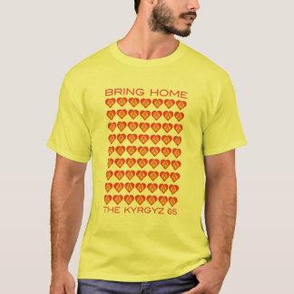 T-shirt Apportez à la maison les 65 kirghiz