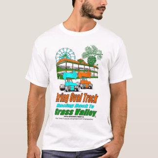 T-shirt Apportez la voie ovale emballant de nouveau à la