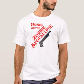 T-shirt Apportez sur l'apocalypse de zombi