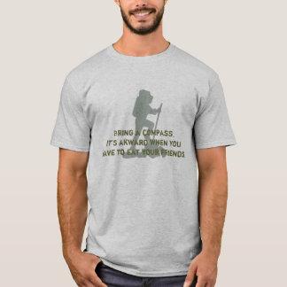 T-shirt Apportez une boussole. C'est akward quand vous