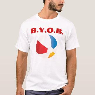 T-shirt Apportez votre propre boule
