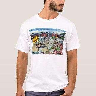 T-shirt Apprécier le centre de récréation de spa de