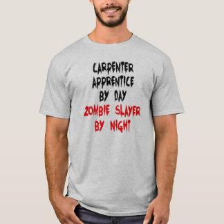 T-shirt Apprenti de charpentier de tueur de zombi
