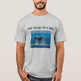 T-shirt Appui vertical encrassant pour une cause - sauvez
