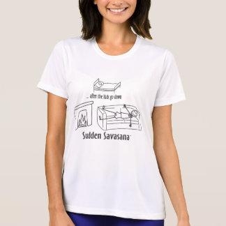 T-shirt Après les enfants soyez vers le bas