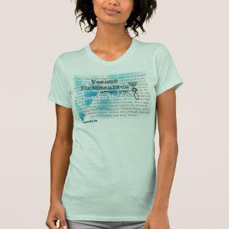 T-shirt Aqua Jésus le Messiah