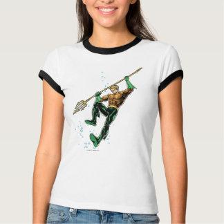 T-shirt Aquaman avec la lance