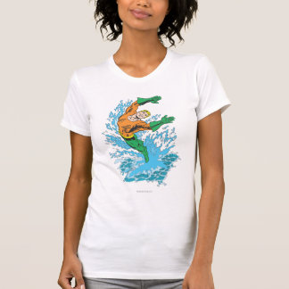 T-shirt Aquaman saute dans la vague