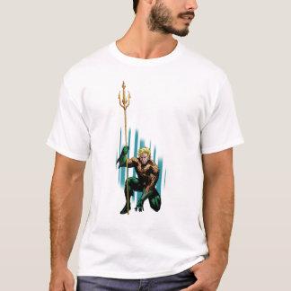 T-shirt Aquaman se tapissant