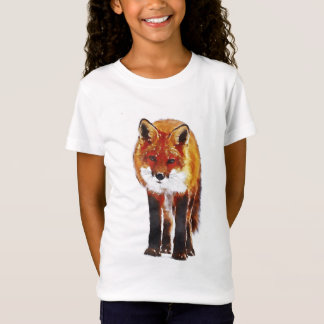 T-Shirt Aquarelle de Fox
