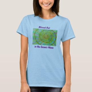 T-shirt Aquarelle vive de spirale et de kaléidoscope