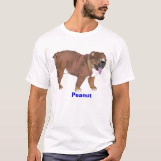T-shirt Arachide, pièce en t anglaise de bouledogue