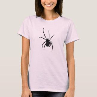 T-shirt Araignée noire