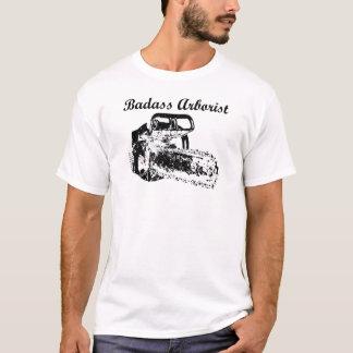 T-shirt Arboriste de Badass - tronçonneuse