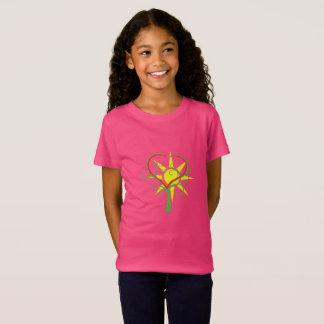 T-Shirt Arbre, coeur et soleil