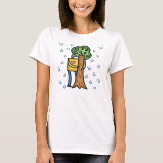 T-shirt Arbre coloré Hugger