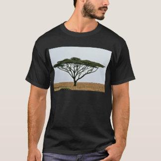 T-shirt Arbre d'acacia d'épine de parapluie