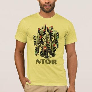 T-shirt Arbre de feu de signalisation de NTOR