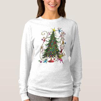 T-shirt Arbre de Noël classique de Grinch  