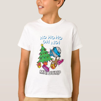 T-shirt Arbre de Noël de M. Bump Decorating A