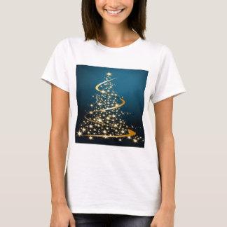 T-shirt Arbre de Noël d'or