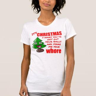 T-shirt Arbre de Noël drôle