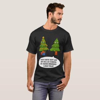 T-shirt Arbre de Noël drôle - Noël drôle futé laid