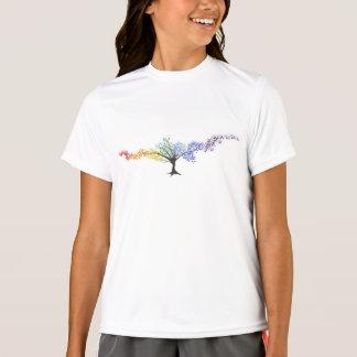 T-shirt Arbre de papillons coloriés