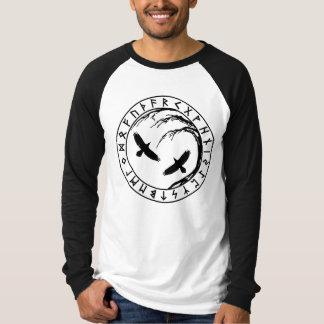 T-shirt Arbre de Yggdrasil de chemise d'équipage de la vie