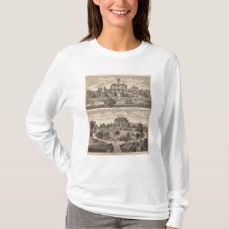 T-shirt Arbre et endroit de Guilford, Minnesota