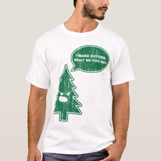T-shirt Arbre fâché (cru)
