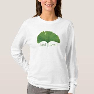 T-shirt Arbre Hugger, amant de feuille - Ginkgo